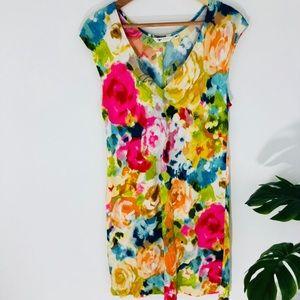 Jams World Hawaiian floral print sleeveless dress